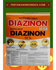 Insektisida Diazinon 10 GR